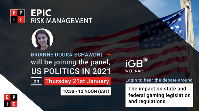 EPIC to contribute at the iGB Webinar: U.S. Politics in 2021