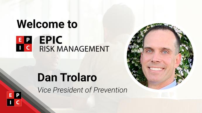 EPIC Risk Management welcome Gambling Harm Prevention expert Dan Trolaro to the team