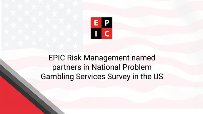 EPIC Risk Management named partners in National Problem Gambling Services Survey in the US